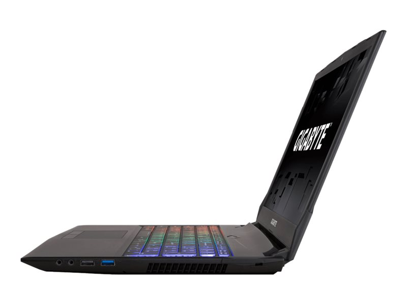 """Gigabyte Sabre 15 P45G v8 - 15.6"""" - Core i7 8750H - 16 Go RAM - 256 Go SSD + 1 To HDD - French"""