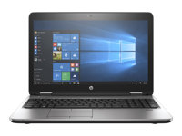"HP ProBook 650 G3 - Core i5 7200U / 2.5 GHz - Win 10 Pro 64 bits - 4 Go RAM - 256 Go SSD HP Z Turbo Drive G2, NVMe, TLC - DVD SuperMulti - 15.6"" 1920 x 1080 (Full HD) - HD Graphics 620 - Wi-Fi, Bluetooth - kbd : français"