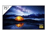 Sony FW-75BZ40H 75INCH Diagonal Class (74.5INCH viewable) BRAVIA Professional Displays LED display