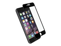 Cygnett RealCurve 3D Screen protector for cellular phone black for Ap