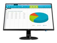 HP N246v - LED monitor - 23.8