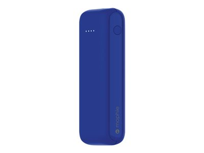 mophie Power Boost Power bank 5200 mAh 3.1 A 2 output connectors (USB) blue