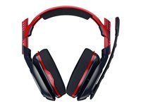 Astro A40 TR X-Edition headset full size wired 3.5 mm jack navy, crimson image