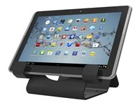 Compulocks Universal Tablet Holder Display With Keyed Cable Lock - CL12UTHBB
