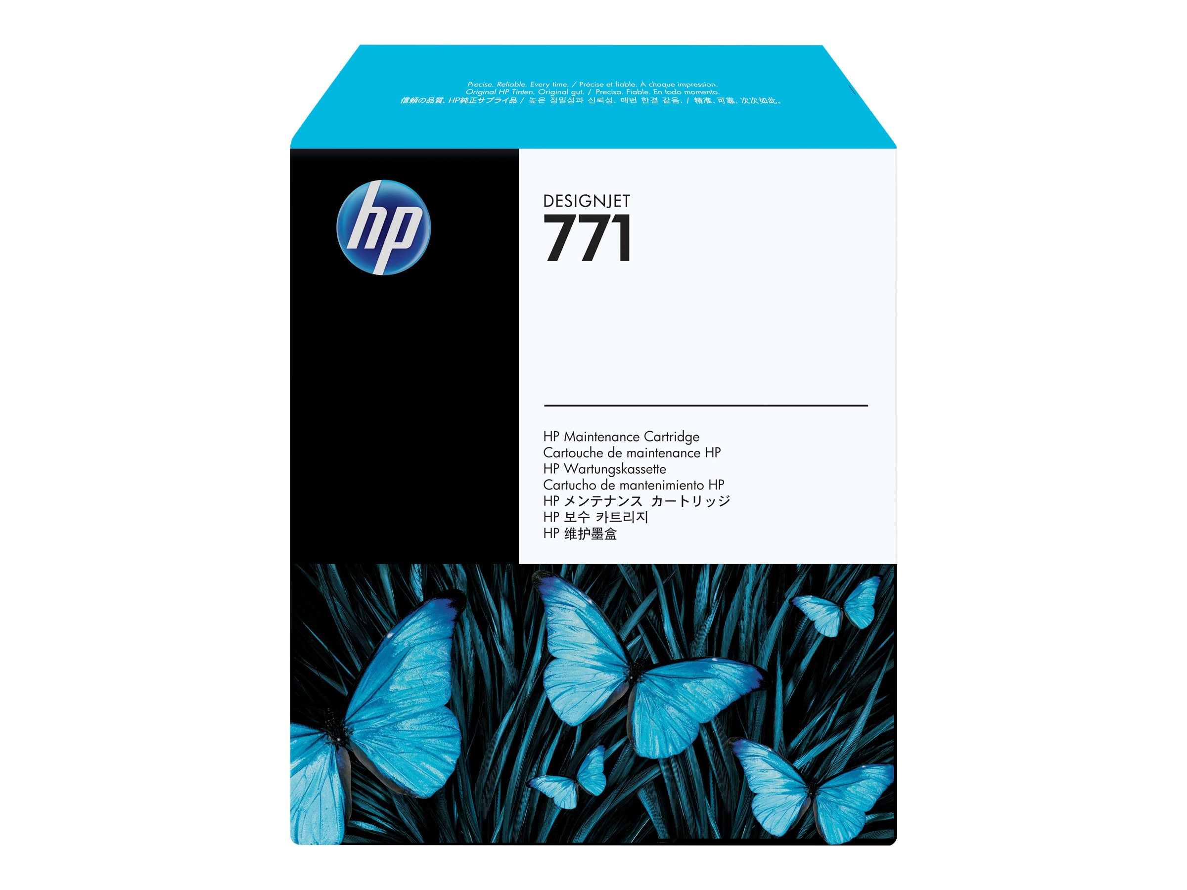 HP 771 - original - cartouche de maintenance