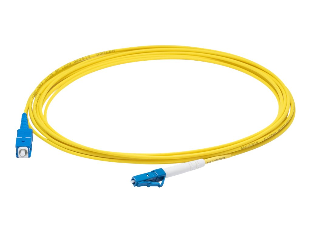 AddOn 8m LC to SC OS1 Yellow Patch Cable - patch cable - 8 m - yellow
