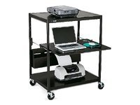 Bretford Interactive Learning Center ECILS1FF-BK Cart for projector (rack) steel black