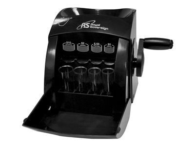 Royal Sovereign QS-1 Manual Hand Crank 1 Row Coin Sorter Coin counter / sor