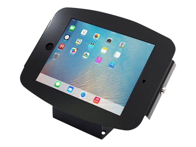 "Compulocks Space 45° - iPad 9.7"" Wall Mount / Counter Top Kiosk - Black - Montage mural pour tablette - aluminium - noir - pour Apple iPad (3ème génération); iPad 2; iPad Air; iPad Air 2; iPad with Retina display"