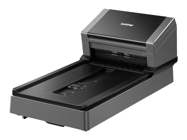 Brother PDS-5000F - Document scanner - Duplex - 218 x 5994 mm - 600 dpi x 600 dpi - up to 60 ppm (mono) / up to 60 ppm (colour) - ADF (100 sheets) - up to 6000 scans per day - USB 3.0 *** Claim a Free 3 Year Warranty from 1st January 2018 redeemable directly from Brother via http://www.brother.co.uk/latest-promotions ***
