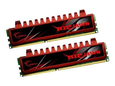 G.Skill Ripjaws F3-12800CL9D-4GBRL - DDR3 - 4 GB : 2 x 2 GB - DIMM 240-PIN - 1600 MHz / PC3-12800 - CL9