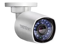 Camara IP 4Mp Bala Lente 4mm IP67 IR 30Mts PoE H.265 Slot mSD (Hasta 128Gb)