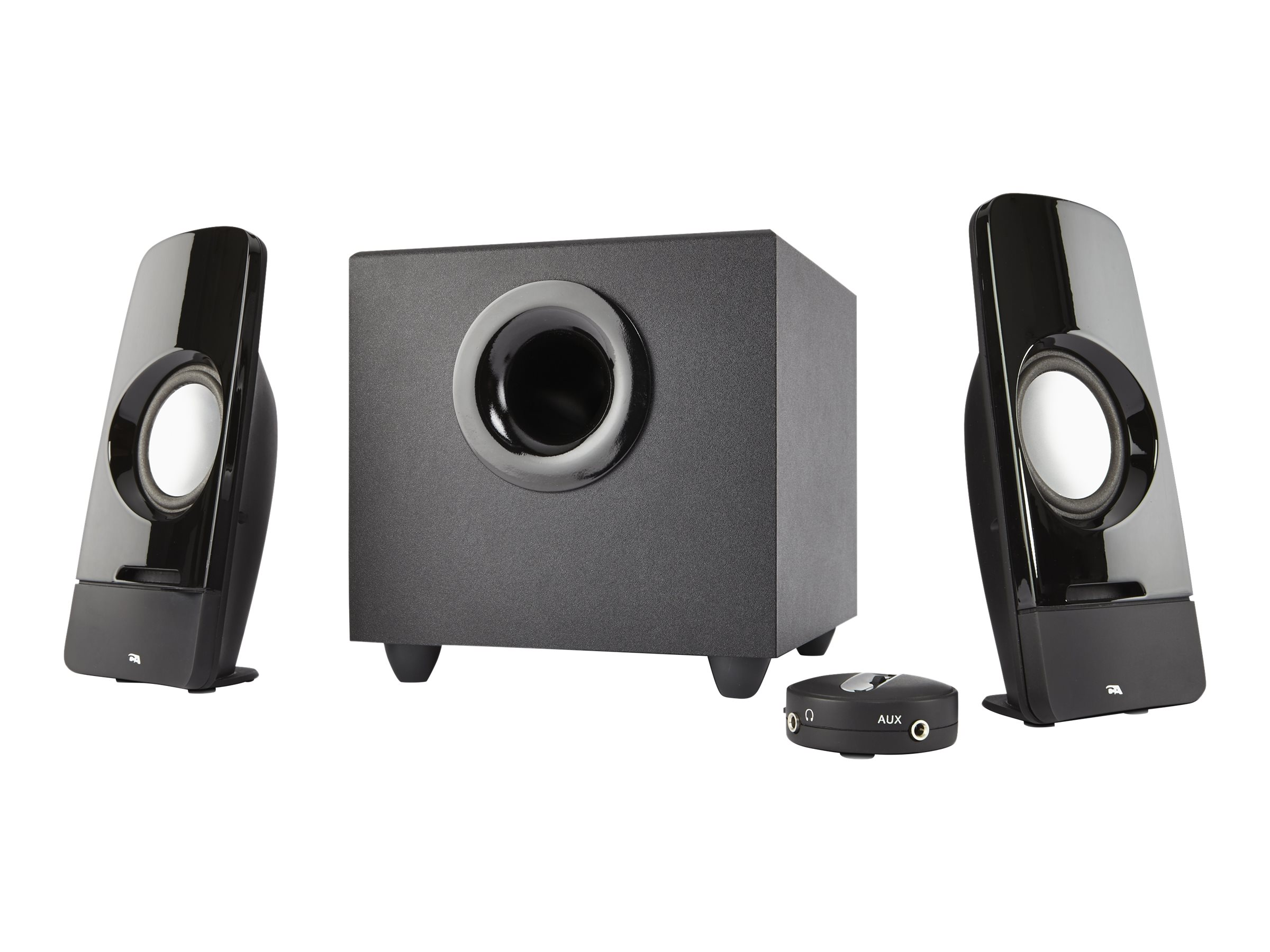 Cyber Acoustics CURVE Series CA-3350 Storm - speaker system - for PC