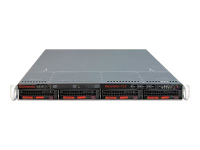 Unitrends Backup Appliances Recovery-712 - recovery appliance - with 1 year DRaaS & Archive and Install Services