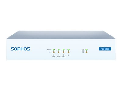 Sophos XG 105w Security appliance with 2 years TotalProtect 4 ports GigE Wi-Fi
