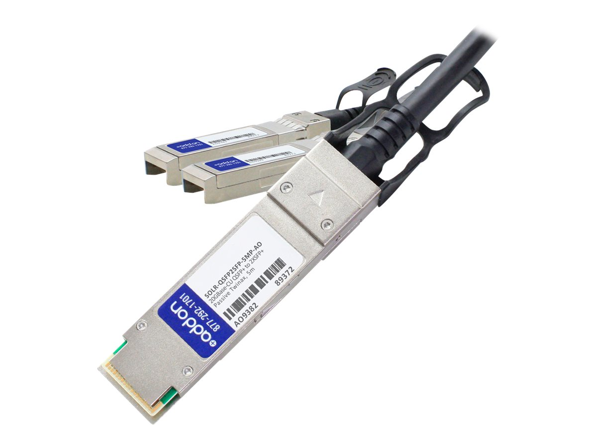 AddOn 20GBase direct attach cable - TAA Compliant - 5 m