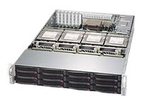 Supermicro SuperStorage Server 6028R-E1CR16T Server rack-mountable 2U 2-way RAM 0 GB