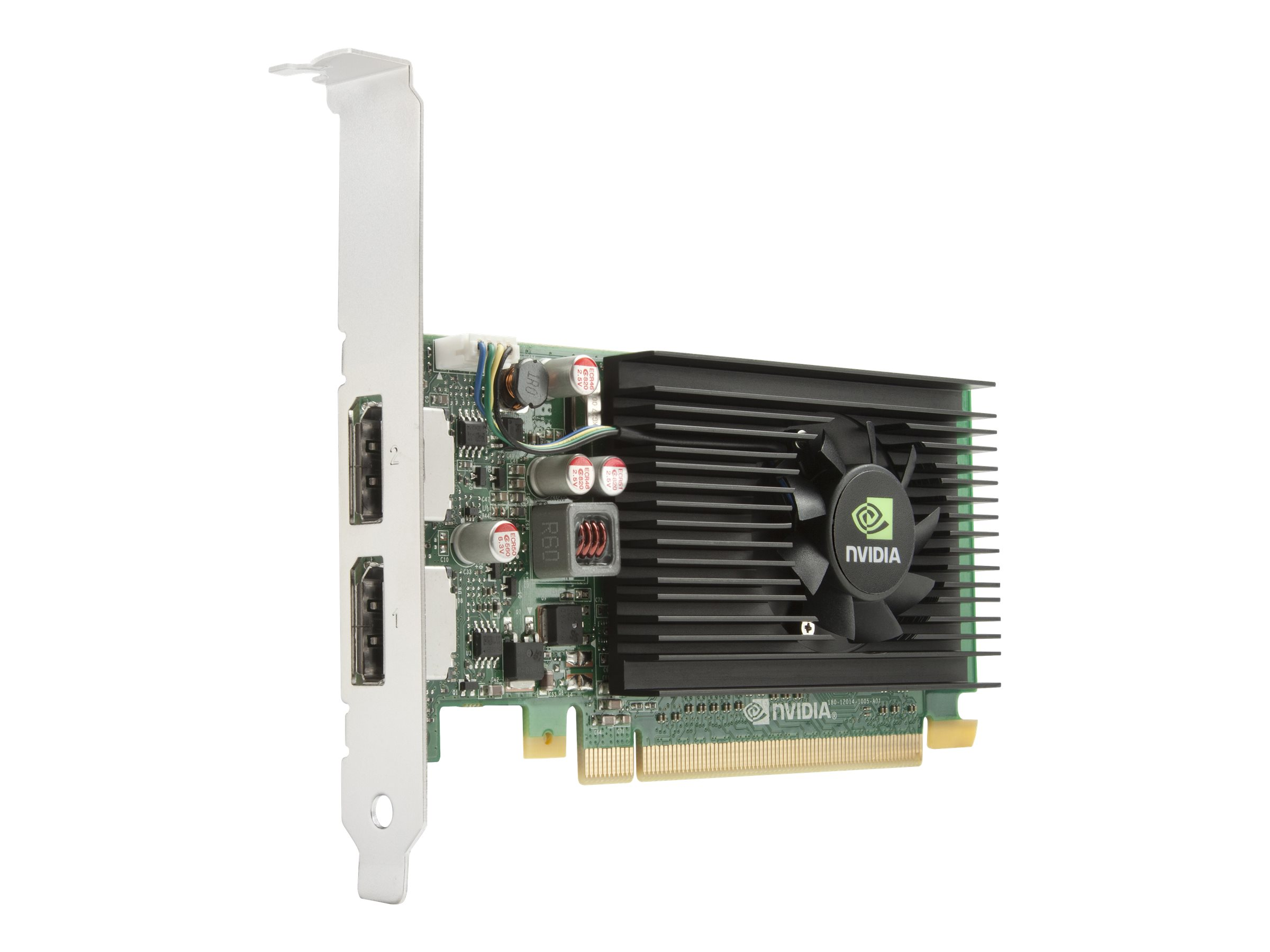 NVIDIA NVS 310 - Grafikkarten - Quadro NVS 310 - 1 GB DDR3 - PCIe 2.0 x16 Low Profile - 2 x DisplayPort
