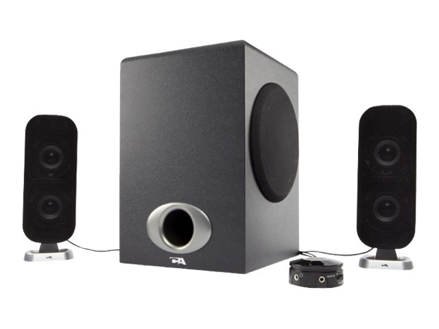 Cyber Acoustics CA-3810 - speaker system - for PC