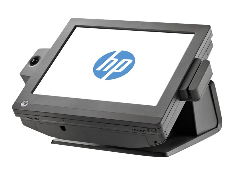 HP RP7 Retail System 7100 - All-in-One (Komplettlösung) - 1 x Celeron 807UE / 1 GHz - RAM 4 GB - SSD 128 GB - HD Graphics