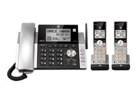 AT&T CL84215 Corded/cordless answering system with caller ID/call waiting
