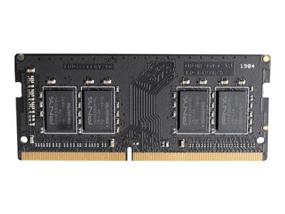 PNY - DDR4 - module - 8 GB - SO-DIMM 260-pin - 2666 MHz / PC