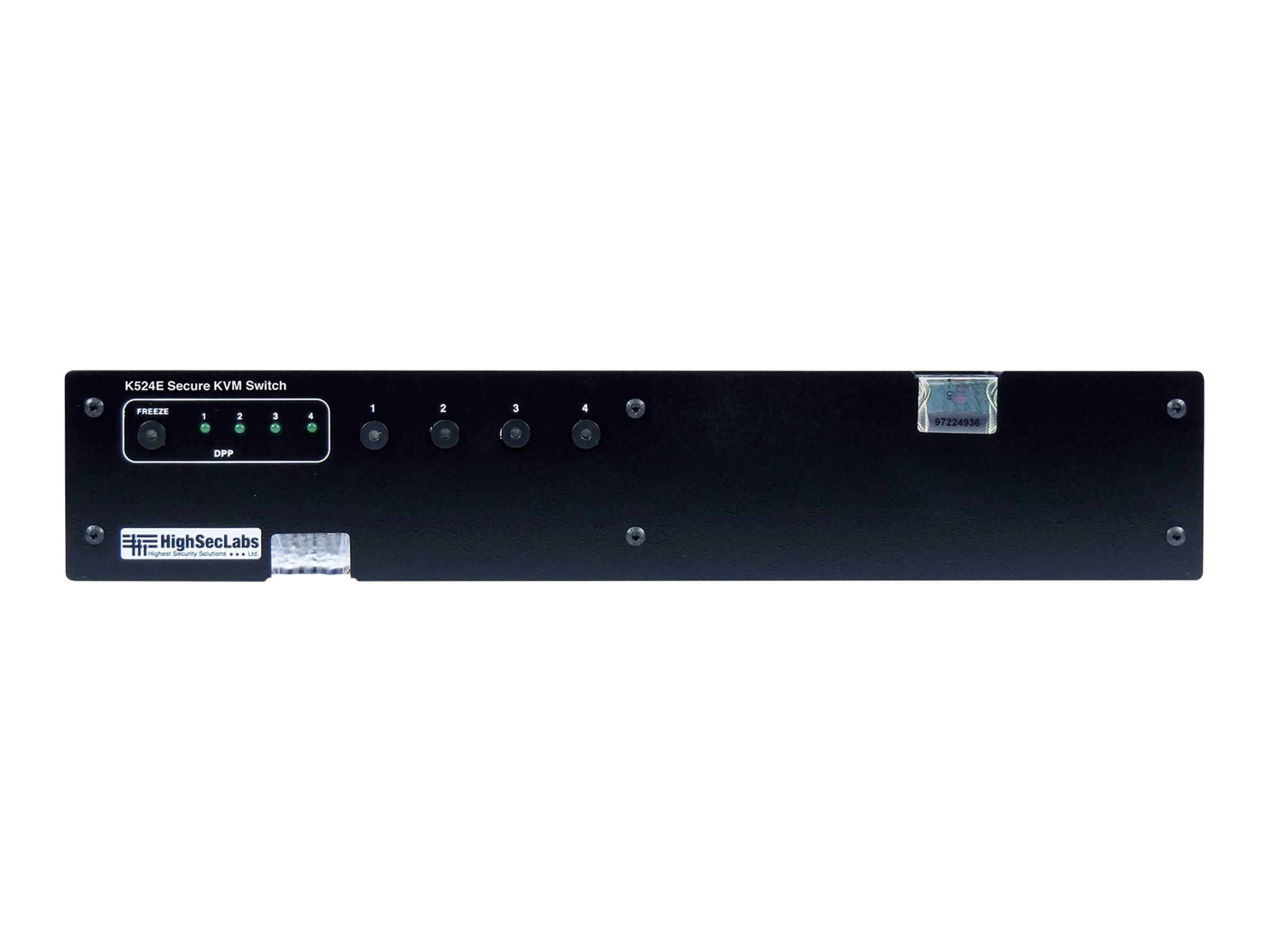 HighSecLabs Secure K524E - KVM / audio / USB switch - 4 ports
