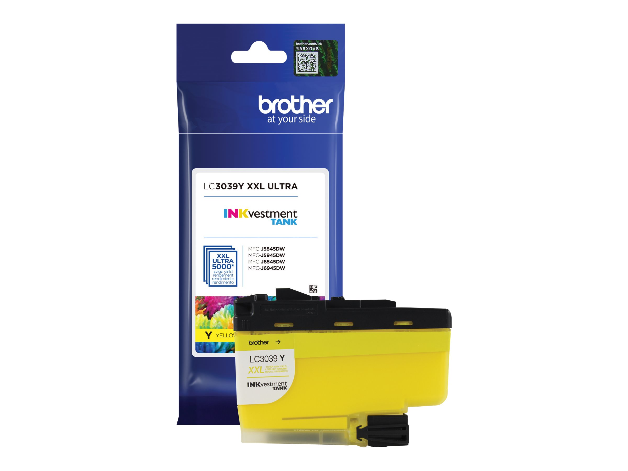 Brother LC3039Y - Ultra High Yield - yellow - original - ink cartridge