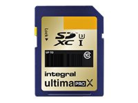 Integral UltimaPro X Gold - Carte mémoire flash - 32 Go - UHS Class 3 / Class10 - SDHC UHS-I