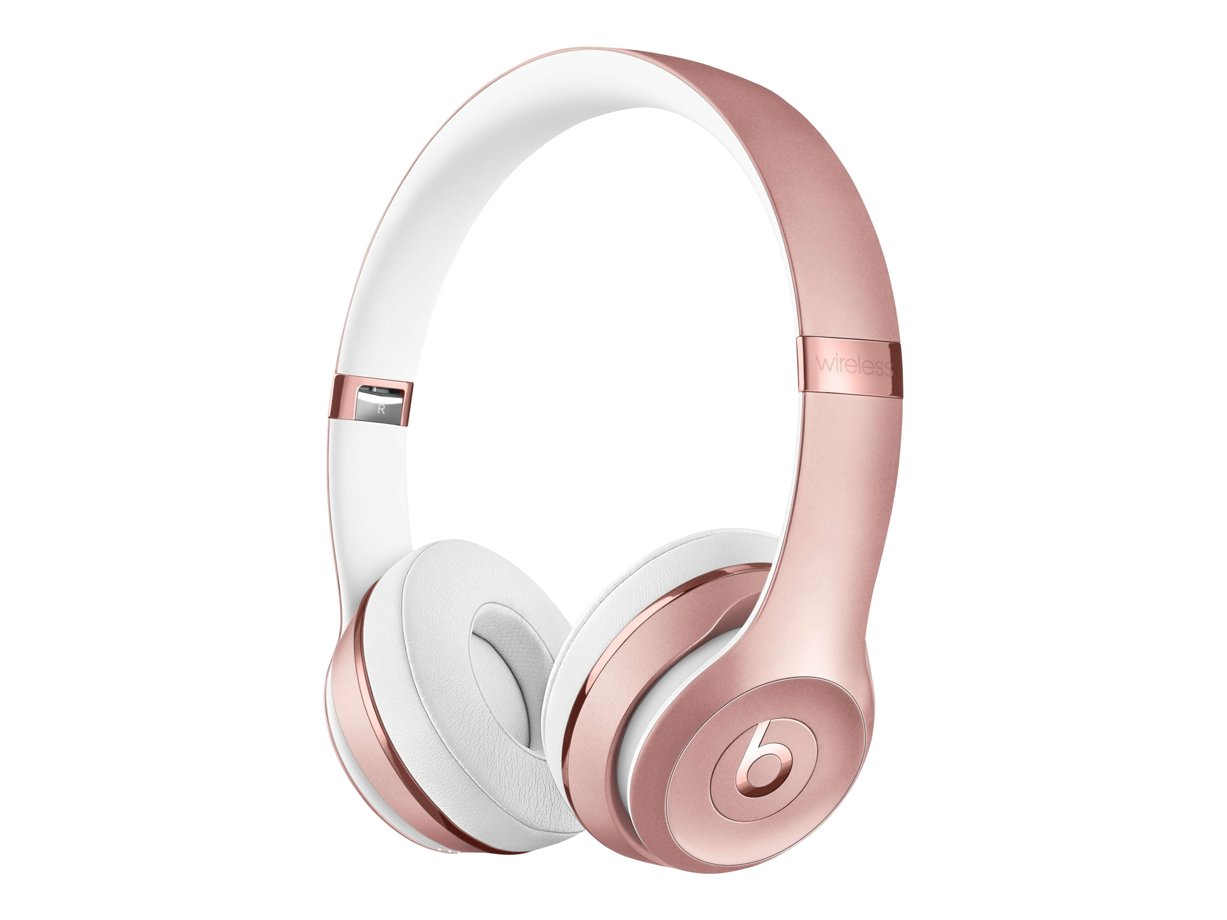 Beats Solo3 - Kopfhörer mit Mikrofon - On-Ear - Bluetooth - kabellos - Rosegold