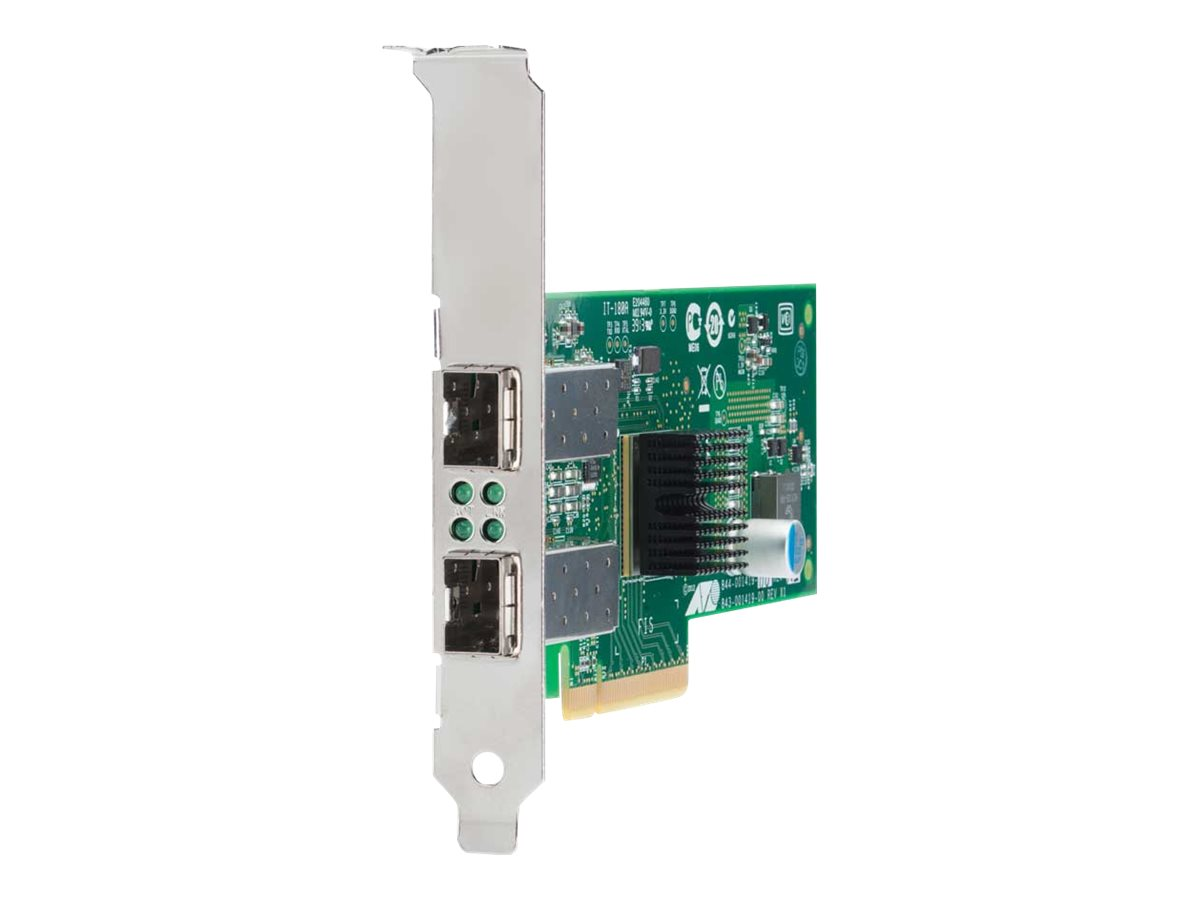 Allied Telesis AT-ANC10S/2 - Netzwerkadapter - PCIe 2.0 x8 - 10 Gigabit SFP+ x 2