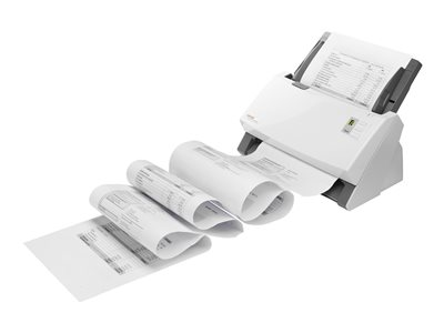 Plustek SmartOffice PS456U - Document scanner - Duplex - 9.6 in x 99.6 in - 600 dpi x 600 dpi - up to 80 ppm (mono) / up to 45 ppm (color) - ADF (100 sheets) - up to 8000 scans per day - USB 2.0