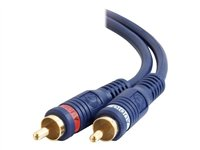 C2G Velocity 25ft Velocity RCA Stereo Audio Cable Audio cable RCA (M) to RCA (M) 25 ft