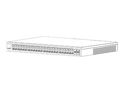 Riverbed SteelConnect SDI-S48 Switch 48 x 10/100/1000 + 4 x 10 Gigabit SFP+ rack-mountable