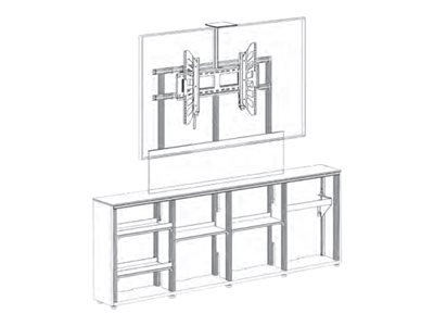 Salamander Cabinet unit for LCD / plasma panel / AV System / camera (low profile)