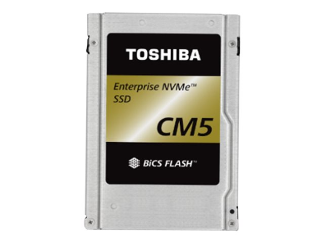 """Toshiba CM5-R Series KCM51RUG960G - Disque SSD - chiffré - 960 Go - interne - 2.5"""" - PCI Express 3.0 x4 (NVMe) - FIPS - Self-Encrypting Drive (SED)"""