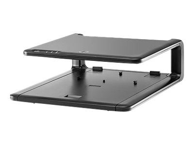 HP TDSourcing LCD Monitor Stand - monitor stand with port replicator shelf