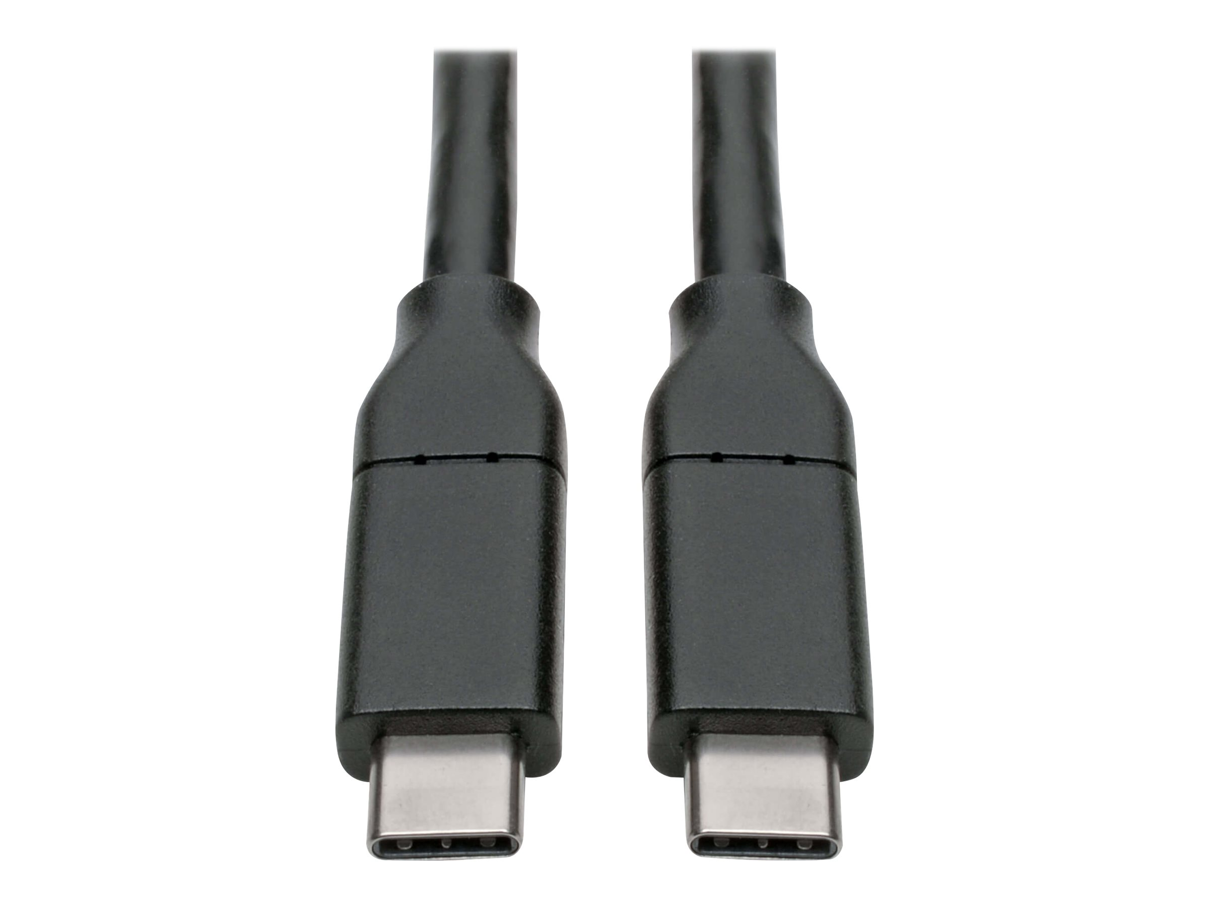 Tripp Lite USB Type C to USB C Cable USB 2.0 5A Rating USB-IF Cert M/M 13ft - USB-C cable - 4 m