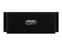 AMX HPX-N100-USB - Modular facility plate snap-in - USB Type A