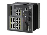 Switch, 16 RJ45 10/100/1000M,4x 1G Combo,LAN Base