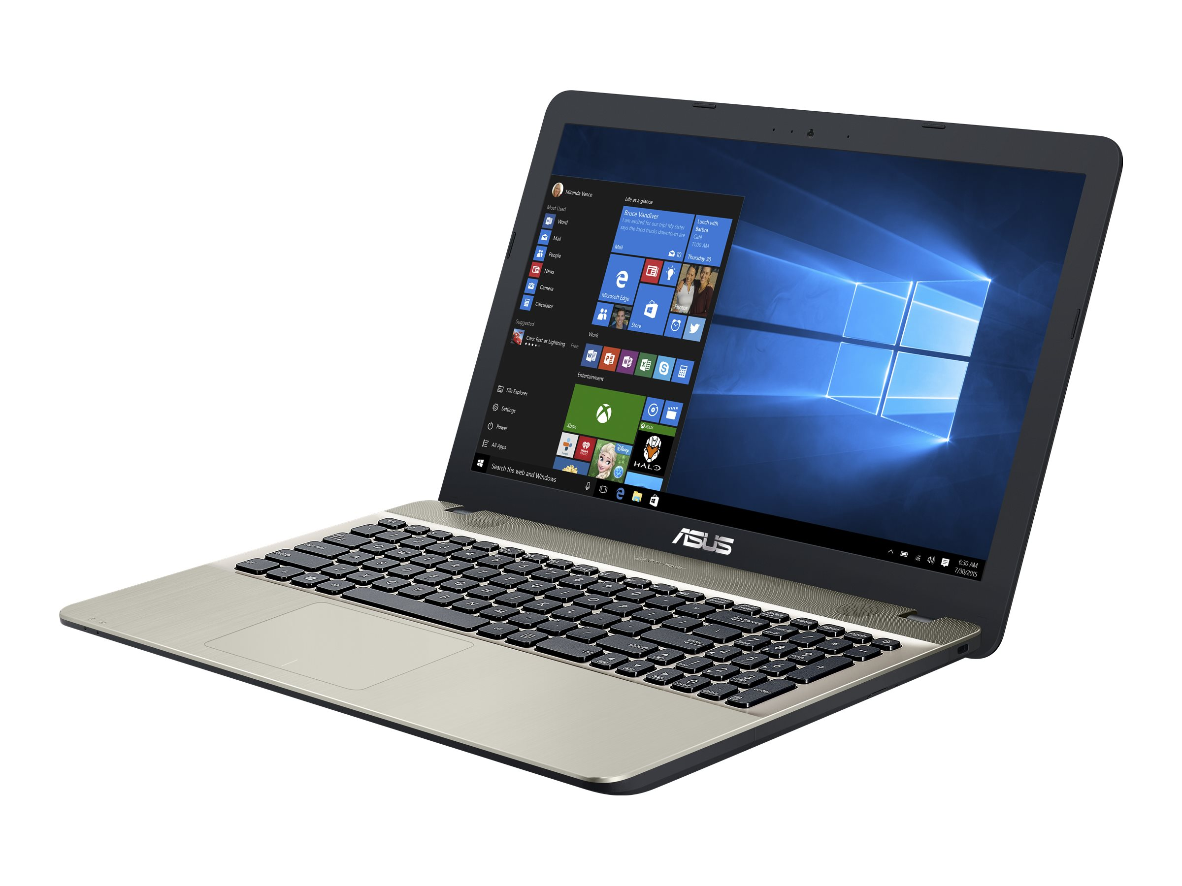 ASUS P541UA GQ1531T - Core i3 6006U / 2 GHz - Win 10 Home 64-Bit - 8 GB RAM - 500 GB HDD - DVD SuperMulti