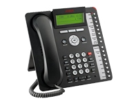 Avaya one-X Deskphone Value Edition 1616-I - VoIP phone - H.323 - black