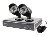 Swann SWDVK-444002 DVR + camera(s) 4 channels 1 x 500 GB 2 camera(s)