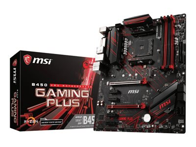 MSI B450 GAMING PLUS ATX  AM4 AMD B450