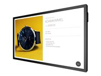 """BenQ IL490 - 49"""" Class Interactive Signage Series LED display - digital signage - with touchscreen (multi touch) - Android - 1080p (Full HD) 1920 x 1080 - edge-lit - black"""