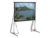 Draper Cinefold HDTV Format Projection screen with legs rear 119INCH (118.9 in) 16:9