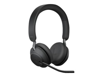 Jabra Evolve2 65 UC Stereo - Headset - On-Ear - Bluetooth - kabellos - USB-A