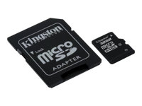 Kingston - Tarjeta de memoria flash (adaptador microSDHC a SD Incluido) - 32 GB
