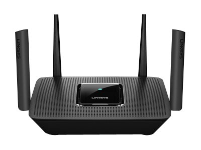Linksys MR8300 - Wireless Router - 4-Port-Switch - GigE - 802.11a/b/g/n/ac - Tri-Band