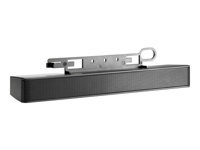 HP LCD Speaker Bar - Speaker - for HP 100; EliteDesk 705 G3; ProDesk 400 G4, 600 G3; ProOne 400 G3, 600 G3; Smart t410
